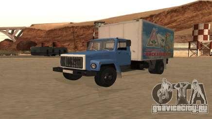 ГАЗ 3309 Пискаревский для GTA San Andreas