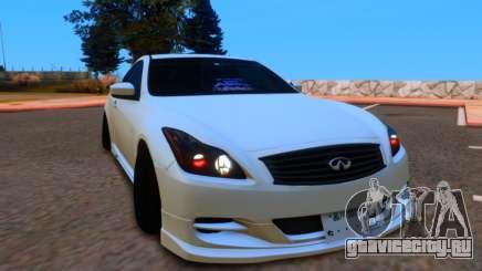 Infiniti G37 для GTA San Andreas
