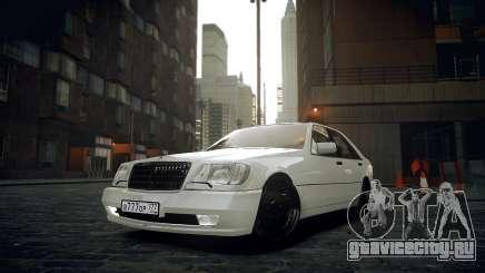 Mercedes-Benz S600 W140 для GTA 4