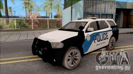 Dodge Durango 2011 Los Santos Police Department для GTA San Andreas