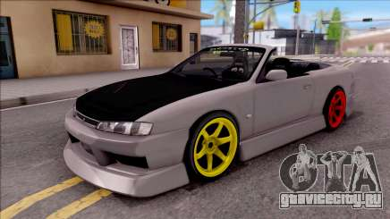Nissan 200SX Cabrio Drift Monster Energy для GTA San Andreas