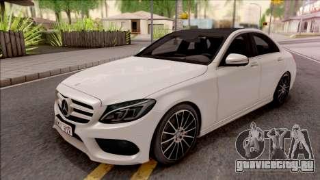 Mercedes-Benz C250 AMG Line v1 для GTA San Andreas