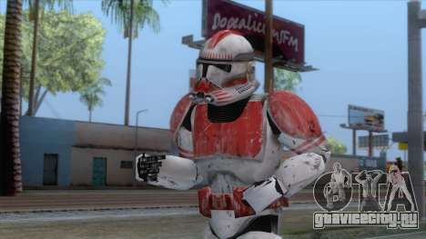 Star Wars JKA - Clone Shock Trooper Skin для GTA San Andreas