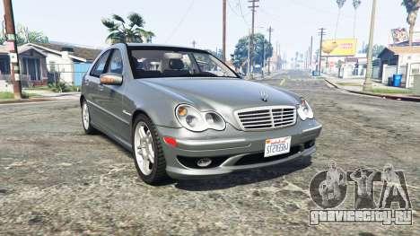 Mercedes-Benz C32 AMG (W203) 2004 [replace] для GTA 5