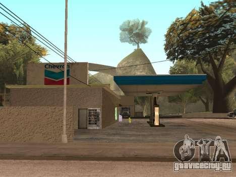 Chevron Gas Station для GTA San Andreas