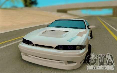 Nissan 200SX LS14 для GTA San Andreas вид сзади