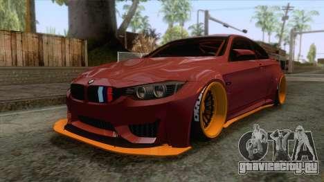 BMW M4 F82 GTS LB Performance 2015 для GTA San Andreas