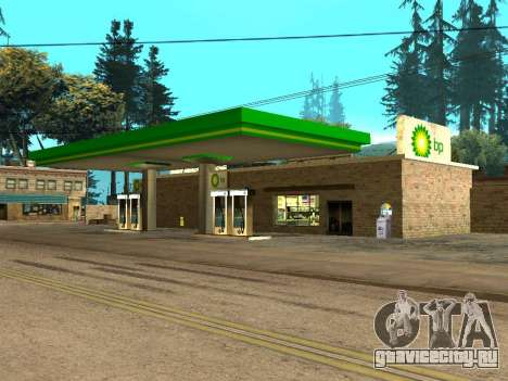 BP Gas Station для GTA San Andreas