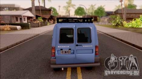 Renault Express для GTA San Andreas вид сзади слева