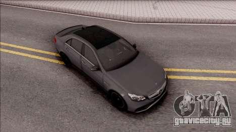 Mercedes-Benz E63 AMG для GTA San Andreas вид справа
