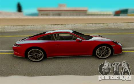 Porsche 911 R 2016 для GTA San Andreas вид сзади