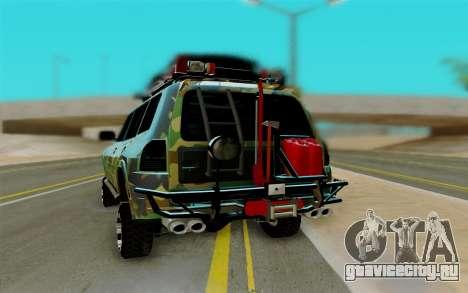 Mitsubishi Pajero IV для GTA San Andreas