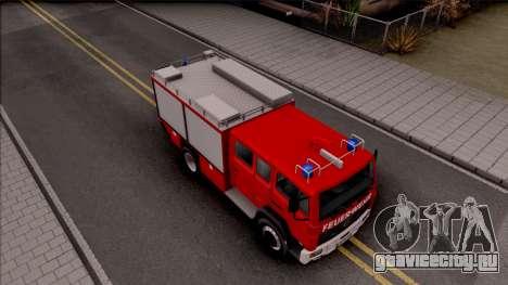 Mercedes-Benz 1222 LF 16/12 Feuerwehr для GTA San Andreas вид справа