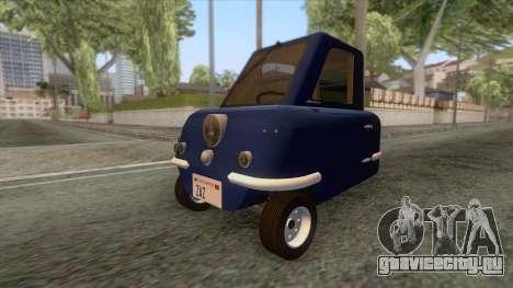 Peel P50 2011 для GTA San Andreas вид сзади слева