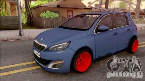 Peugeot 308 STANCE NATION для GTA San Andreas