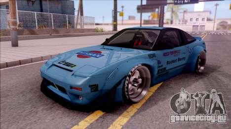Nissan 240SX 1994 Rocket Bunny RB Performance для GTA San Andreas