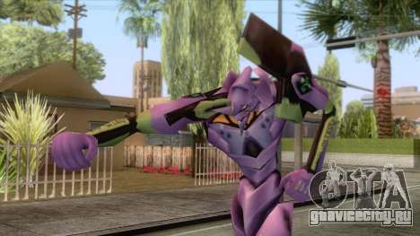 Neon Genesis Evangelion - EVA 01 для GTA San Andreas