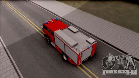Mercedes-Benz 1222 LF 16/12 Feuerwehr для GTA San Andreas вид сзади