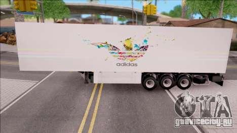 Remolque Adidas для GTA San Andreas