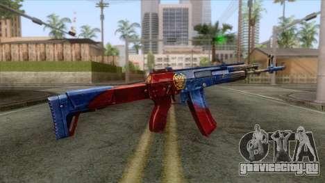 CrossFire AK-12 Assault Rifle v2 для GTA San Andreas второй скриншот