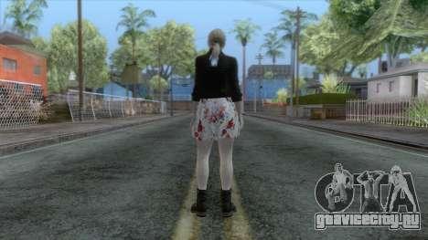 Jill Valentine Dress v1 для GTA San Andreas третий скриншот