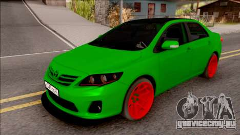 Toyota Corolla Green Edition для GTA San Andreas