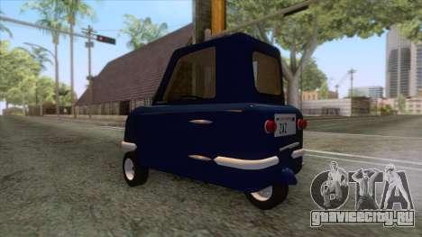 Peel P50 2011 для GTA San Andreas вид справа
