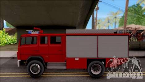 Mercedes-Benz 1222 LF 16/12 Feuerwehr для GTA San Andreas вид слева