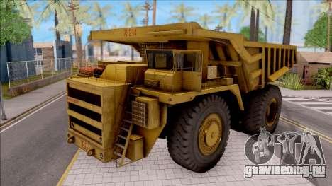 BELAZ-75214 HQLM для GTA San Andreas