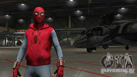 Spider-Man Home-Made Suit для GTA 5
