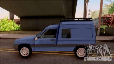 Renault Express для GTA San Andreas вид слева