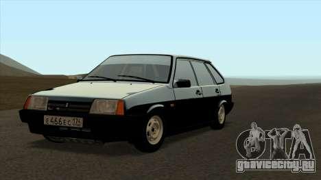 ВАЗ 2109 по оригиналу для GTA San Andreas