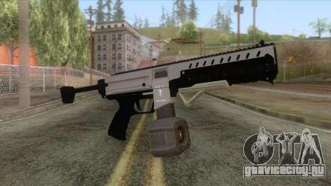GTA 5 Coil Combat PDW Drum Magazine для GTA San Andreas