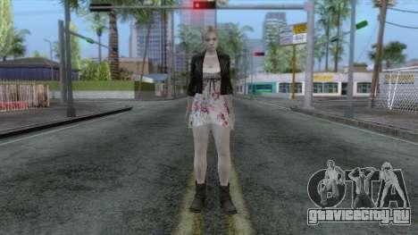 Jill Valentine Dress v1 для GTA San Andreas второй скриншот