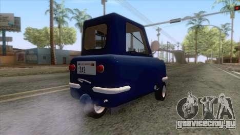 Peel P50 2011 для GTA San Andreas вид слева