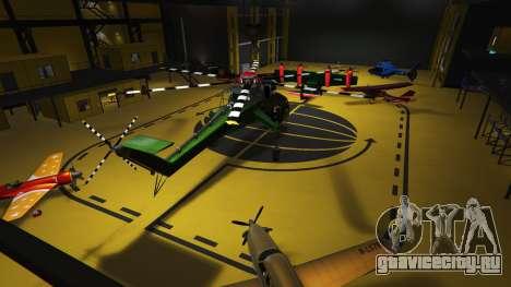 Hangars in SP 1.1 для GTA 5 второй скриншот