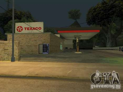 Texaco Gas Station для GTA San Andreas