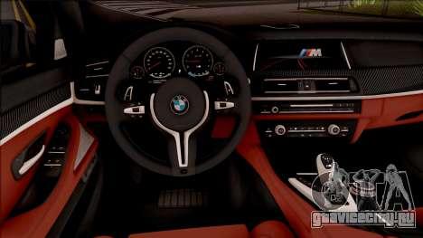 BMW M5 F10 Nighthawk для GTA San Andreas