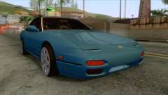 Nissan 240SX Stock FM7 для GTA San Andreas