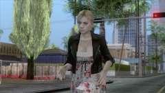 Jill Valentine Dress v1 для GTA San Andreas