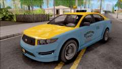 GTA V Vapid Unnamed Taxi IVF для GTA San Andreas