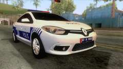 Renault Fluence Turkish Police Car для GTA San Andreas