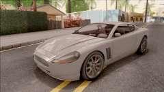 GTA IV Dewbauchee Super GT для GTA San Andreas