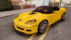Chevrolet Corvette ZR1 C6 2009 для GTA San Andreas