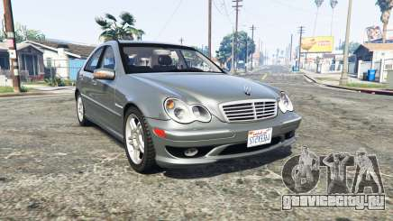 Mercedes-Benz C32 AMG (W203) 2004 [replace] для GTA 5