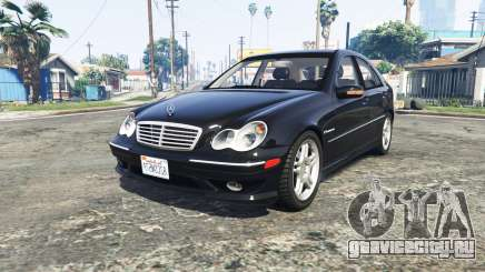 Mercedes-Benz C32 AMG (W203) 2004 [add-on] для GTA 5