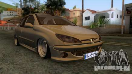 Peugeot 206 Full Sport Edit для GTA San Andreas