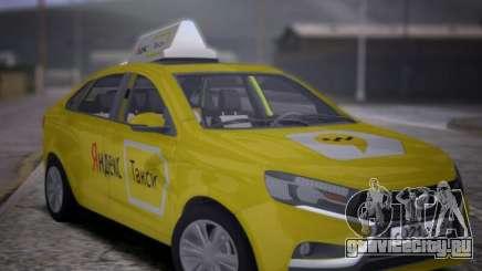 Lada Vesta Yandex Taxi (LVYT) Beta 0.1 для GTA San Andreas