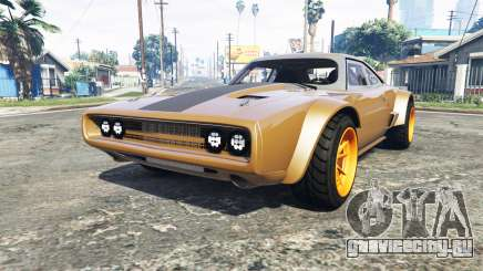 Dodge Charger Fast & Furious 8 [add-on] для GTA 5