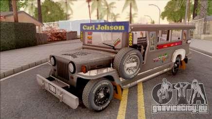 Galvanized Jeepney для GTA San Andreas